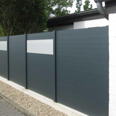 Aluminium Sichtschutzzaun