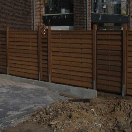 Holz-Sichtschutzzaun