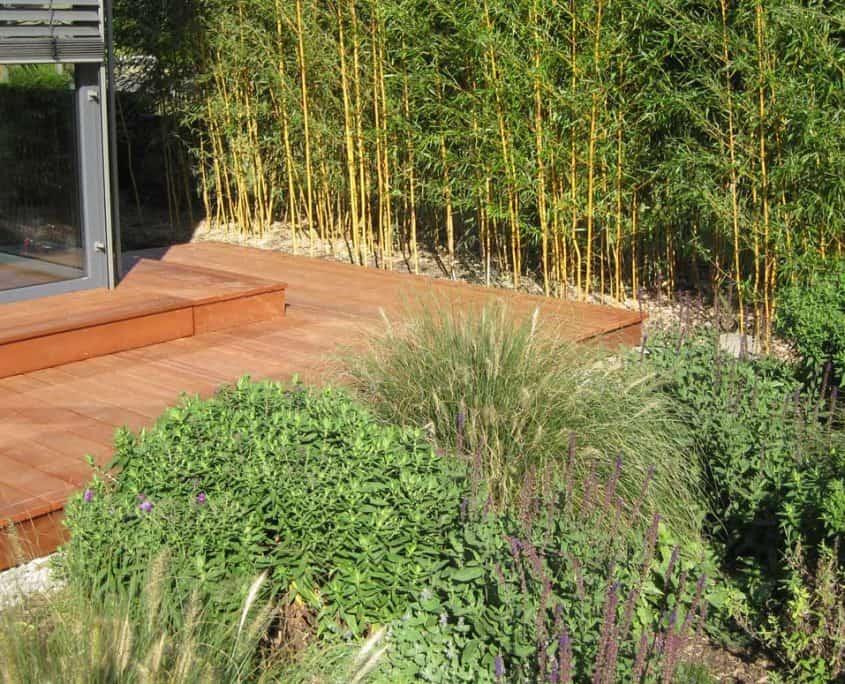 Holz-Terrasse