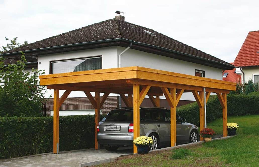 carports gartenh user spielger te mit montage service gartenholzprofi. Black Bedroom Furniture Sets. Home Design Ideas