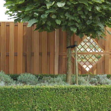 Sichtschutzzaun Holz / WPC. Montiert oder angeliefert ...