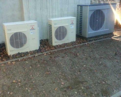 Verkleidung Klimaanlage vorher
