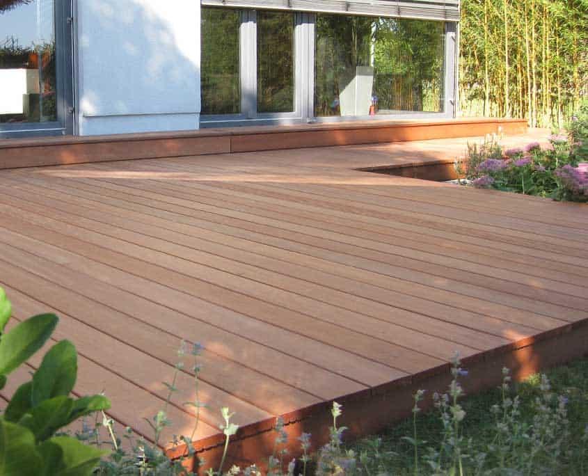 gartenholz angeliefert oder montiert für privat & gewerbe, Garten und Bauten