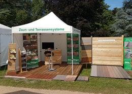 Gartenholzprofi auf Schloss Dyck